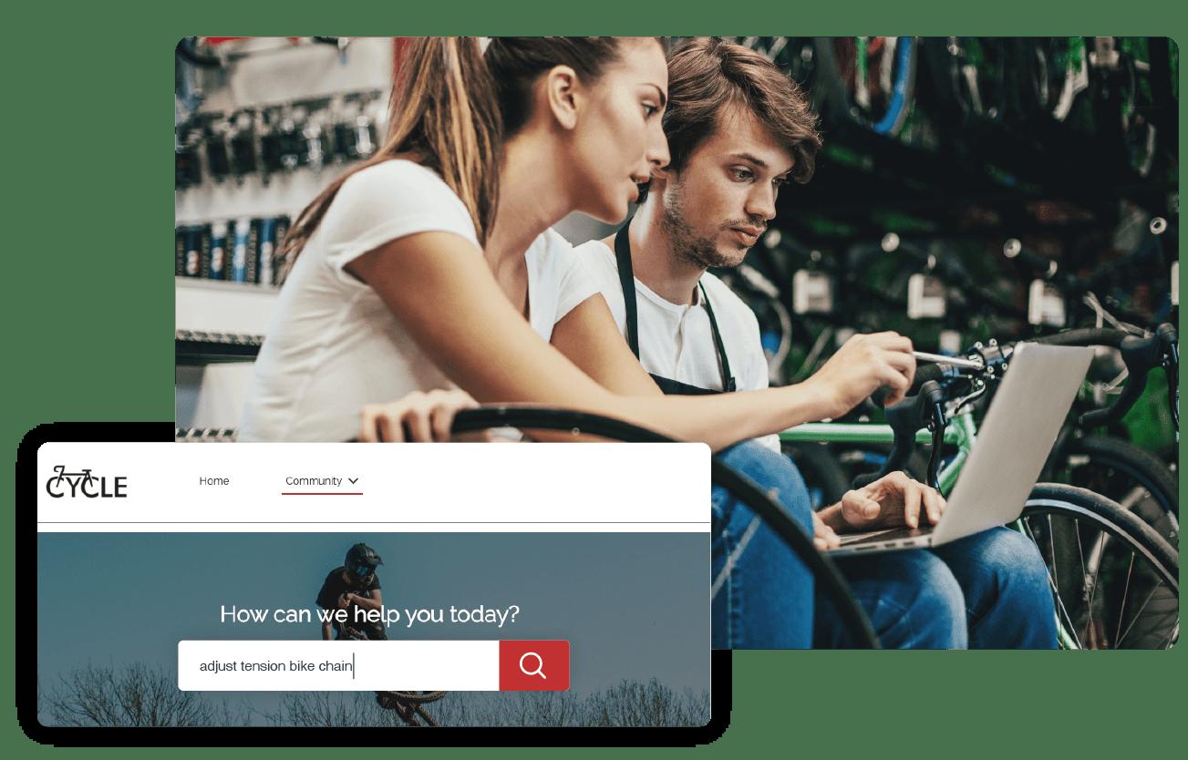Advanced ai-powered customer service portal